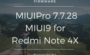 MIUIPro MIUI9 ROM for Redmi Note 4X