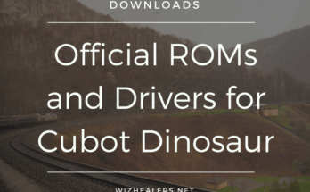 Download Official ROMs and Drivers for Cubot Dinosaur