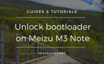 Bootloader unlocking guide for Meizu M3 Note