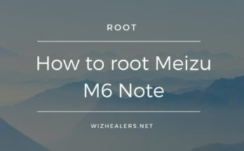 Rooting Meizu M6 Note Guide
