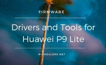 Download and install PC drivers for Huawei P9 Lite