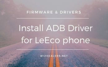 Download ADB Driver for LeEco Le Pro 3