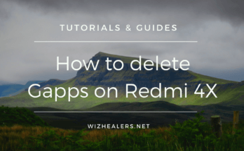 Remove Gapps on Xiaomi Redmi 4X without root